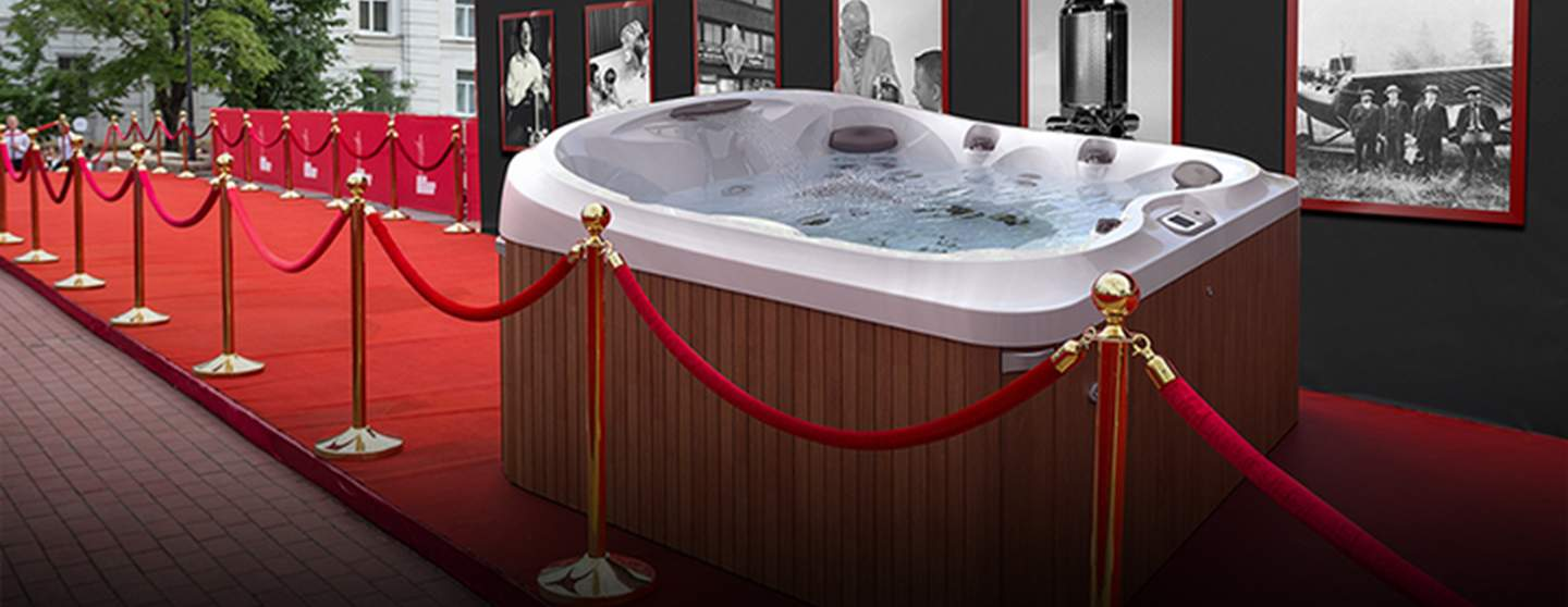 Signature Pool and Spas - Jacuzzi Hot Tub Promotion, Feel like a V.I.P.