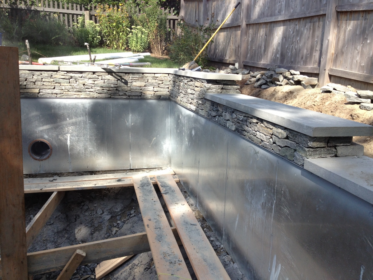Signature pool and spas full service pool builder in ri for Spa construction