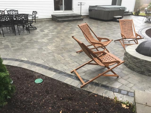 Jacuzzi, Firepit, Outdoor Lighting And Patio   Construction By Signature  Pool And Spas